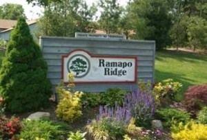 sign at entrance to Ramapo Ridge